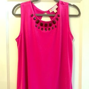 Michael Kors Pink Sleeveless Top